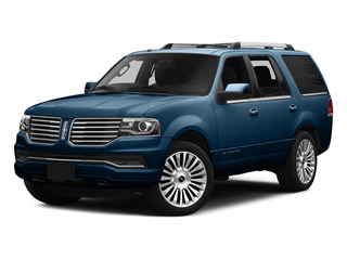 Midnight Sapphire Metallic 2015 Lincoln Navigator Pictures Navigator Utility 4D Select 2WD V6 Turbo photos front view