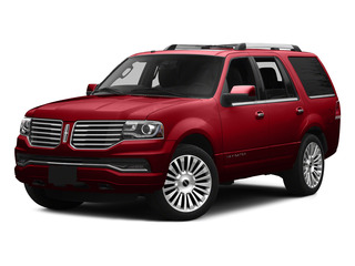 Ruby Red Metallic Tinted Clearcoat 2015 Lincoln Navigator Pictures Navigator Utility 4D Select 2WD V6 Turbo photos front view