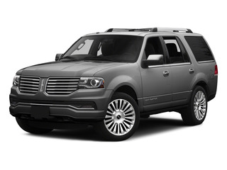 Ingot Silver Metallic 2015 Lincoln Navigator Pictures Navigator Utility 4D Select 2WD V6 Turbo photos front view