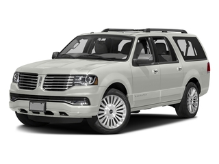 White Platinum Metallic Tri-Coat 2015 Lincoln Navigator L Pictures Navigator L Utility 4D Select 2WD V6 Turbo photos front view