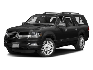 Tuxedo Black Metallic 2015 Lincoln Navigator L Pictures Navigator L Utility 4D Select 2WD V6 Turbo photos front view