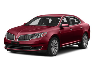 Ruby Red Metallic Tinted Clearcoat 2015 Lincoln MKS Pictures MKS Sedan 4D V6 photos front view