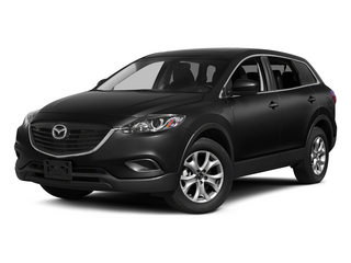 Jet Black Mica 2015 Mazda CX-9 Pictures CX-9 Utility 4D Sport AWD V6 photos front view