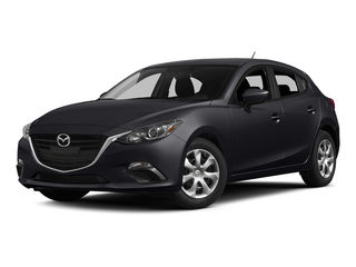 Meteor Gray Mica 2015 Mazda Mazda3 Pictures Mazda3 Wagon 5D i Touring I4 photos front view