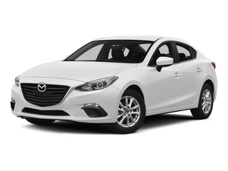 Snowflake White Pearl Mica 2015 Mazda Mazda3 Pictures Mazda3 Sedan 4D s Touring I4 photos front view
