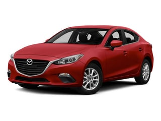 Soul Red Metallic 2015 Mazda Mazda3 Pictures Mazda3 Sedan 4D i Sport I4 photos front view