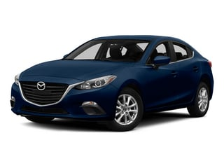 Deep Crystal Blue Mica 2015 Mazda Mazda3 Pictures Mazda3 Sedan 4D s Touring I4 photos front view