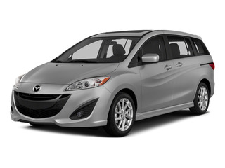Liquid Silver Metallic 2015 Mazda Mazda5 Pictures Mazda5 Wagon 5D Sport I4 photos front view