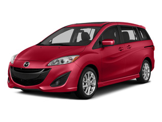 Zeal Red Mica 2015 Mazda Mazda5 Pictures Mazda5 Wagon 5D Sport I4 photos front view