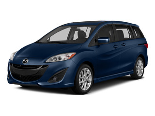 Deep Crystal Blue 2015 Mazda Mazda5 Pictures Mazda5 Wagon 5D Sport I4 photos front view