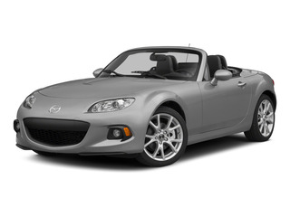 Liquid Silver Metallic 2015 Mazda MX-5 Miata Pictures MX-5 Miata Hardtop 2D Club I4 photos front view