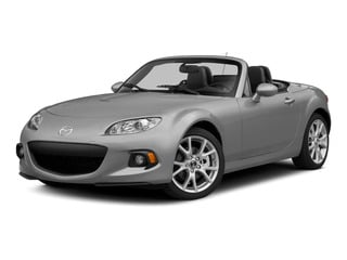 Liquid Silver Metallic 2015 Mazda MX-5 Miata Pictures MX-5 Miata Convertible 2D Club I4 photos front view