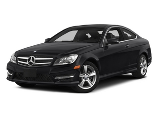 Black 2015 Mercedes-Benz C-Class Pictures C-Class Coupe 2D C250 I4 Turbo photos front view