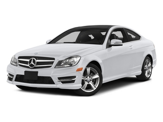 Polar White 2015 Mercedes-Benz C-Class Pictures C-Class Coupe 2D C250 I4 Turbo photos front view