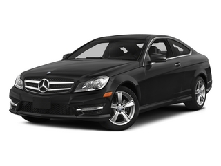 Obsidian Black Metallic 2015 Mercedes-Benz C-Class Pictures C-Class Coupe 2D C250 I4 Turbo photos front view