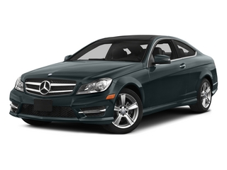 Steel Gray Metallic 2015 Mercedes-Benz C-Class Pictures C-Class Coupe 2D C250 I4 Turbo photos front view