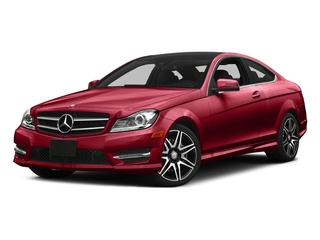 Mars Red 2015 Mercedes-Benz C-Class Pictures C-Class Coupe 2D C350 V6 photos front view