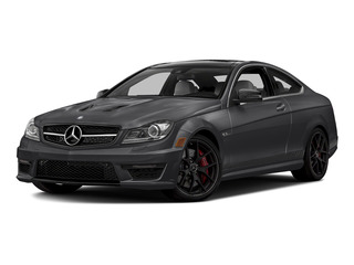 Steel Gray Metallic 2015 Mercedes-Benz C-Class Pictures C-Class Coupe 2D C63 AMG V8 photos front view