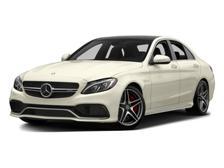 Diamond White Metallic 2015 Mercedes-Benz C-Class Pictures C-Class Sedan 4D C63 AMG V8 Turbo photos front view