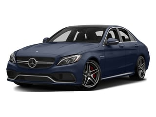 Lunar Blue Metallic 2015 Mercedes-Benz C-Class Pictures C-Class Sedan 4D C63 AMG V8 Turbo photos front view