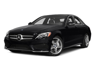 Black 2015 Mercedes-Benz C-Class Pictures C-Class Sedan 4D C400 AWD V6 Turbo photos front view