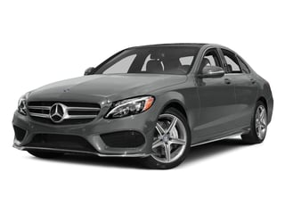 Palladium Silver Metallic 2015 Mercedes-Benz C-Class Pictures C-Class Sedan 4D C400 AWD V6 Turbo photos front view