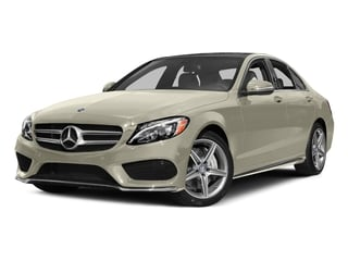 Diamond White Metallic 2015 Mercedes-Benz C-Class Pictures C-Class Sedan 4D C400 AWD V6 Turbo photos front view