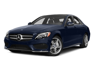 Lunar Blue Metallic 2015 Mercedes-Benz C-Class Pictures C-Class Sedan 4D C400 AWD V6 Turbo photos front view