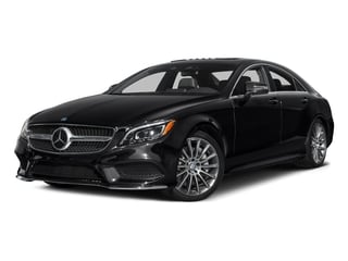 Black 2015 Mercedes-Benz CLS-Class Pictures CLS-Class Sedan 4D CLS550 V8 Turbo photos front view