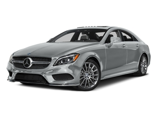 Iridium Silver Metallic 2015 Mercedes-Benz CLS-Class Pictures CLS-Class Sedan 4D CLS550 V8 Turbo photos front view
