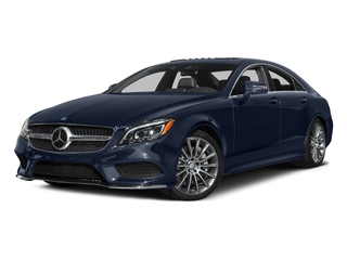 Lunar Blue Metallic 2015 Mercedes-Benz CLS-Class Pictures CLS-Class Sedan 4D CLS550 V8 Turbo photos front view