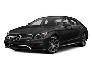 Obsidian Black Metallic 2015 Mercedes-Benz CLS-Class Pictures CLS-Class Sedan 4D CLS63 AMG S AWD V8 photos front view