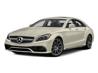 designo Diamond White Metallic 2015 Mercedes-Benz CLS-Class Pictures CLS-Class Sedan 4D CLS63 AMG S AWD V8 photos front view