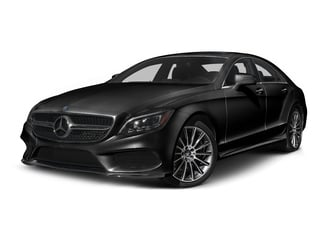 Obsidian Black Metallic 2015 Mercedes-Benz CLS-Class Pictures CLS-Class Sedan 4D CLS400 AWD V6 Turbo photos front view