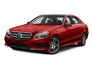 designo Cardinal Red Metallic 2015 Mercedes-Benz E-Class Pictures E-Class Sedan 4D E400 V6 Turbo photos front view