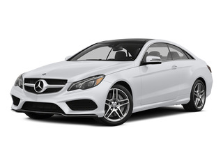 Polar White 2015 Mercedes-Benz E-Class Pictures E-Class Coupe 2D E550 V8 Turbo photos front view