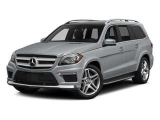 Iridium Silver Metallic 2015 Mercedes-Benz GL-Class Pictures GL-Class Utility 4D GL550 4WD V8 photos front view