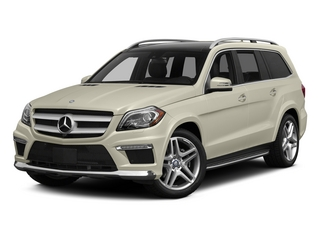 Diamond White Metallic 2015 Mercedes-Benz GL-Class Pictures GL-Class Utility 4D GL550 4WD V8 photos front view