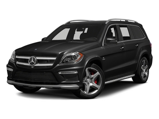 Obsidian Black Metallic 2015 Mercedes-Benz GL-Class Pictures GL-Class Utility 4D GL63 AMG 4WD V8 photos front view