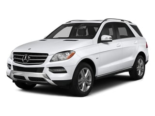 Polar White 2015 Mercedes-Benz M-Class Pictures M-Class Utility 4D ML350 2WD V6 photos front view