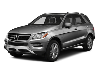 Steel Gray Metallic 2015 Mercedes-Benz M-Class Pictures M-Class Utility 4D ML350 2WD V6 photos front view