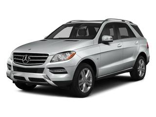 Iridium Silver Metallic 2015 Mercedes-Benz M-Class Pictures M-Class Utility 4D ML350 2WD V6 photos front view