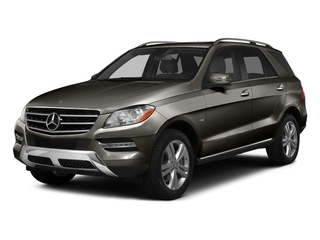 Dakota Brown Metallic 2015 Mercedes-Benz M-Class Pictures M-Class Utility 4D ML350 2WD V6 photos front view