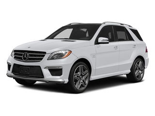 Polar White 2015 Mercedes-Benz M-Class Pictures M-Class Utility 4D ML63 AMG AWD V8 photos front view