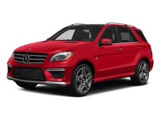 Cinnabar Red Metallic 2015 Mercedes-Benz M-Class Pictures M-Class Utility 4D ML63 AMG AWD V8 photos front view