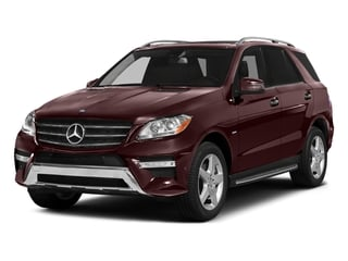 Cinnabar Red Metallic 2015 Mercedes-Benz M-Class Pictures M-Class Utility 4D ML400 AWD V6 Turbo photos front view