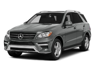 Palladium Silver Metallic 2015 Mercedes-Benz M-Class Pictures M-Class Utility 4D ML400 AWD V6 Turbo photos front view