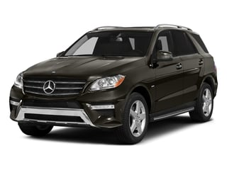 Dakota Brown Metallic 2015 Mercedes-Benz M-Class Pictures M-Class Utility 4D ML400 AWD V6 Turbo photos front view