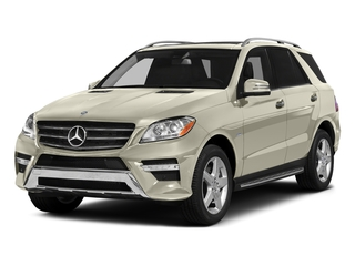 designo Diamond White Metallic 2015 Mercedes-Benz M-Class Pictures M-Class Utility 4D ML400 AWD V6 Turbo photos front view