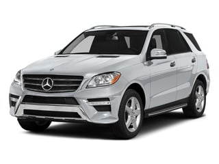 Diamond Silver Metallic 2015 Mercedes-Benz M-Class Pictures M-Class Utility 4D ML400 AWD V6 Turbo photos front view
